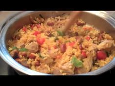 Arroz Mamposteao or Puerto Rican Fried Rice - YouTube