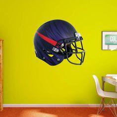 Fathead NCAA TCU Horned Frogs Bleeding Eyes Helmet Wall Decal - 41-40148