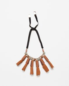 SPECIAL EDITION WOODEN NECKLACE-Jewellery-ACCESSORIES-WOMAN | ZARA United States
