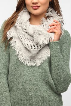 Urban Outfitters - Fringe Scarf