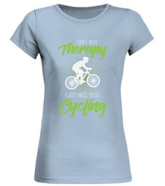 Cycling Therapy (Round neck T-Shirt Woman - Blue Sky) #events #tattoos #technology cycling gear, cycling bikes, cycling for beginners, back to school, aesthetic wallpaper, y2k fashion Cycling For Beginners, Spin Class, Cycling Bikes, Aesthetic Wallpapers, Back To School, Therapy, Events, Sky, Technology
