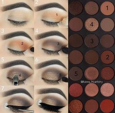 Step by step smokey eye using morphe 35O by rubina_muartistry