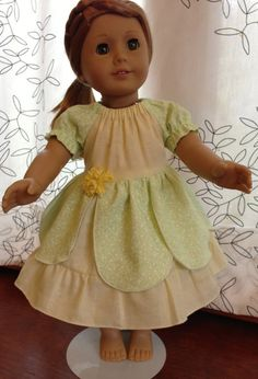 100 Cotton Tiana Peasant Style Princess Dress for by SewEveryWhim, $22.00