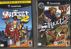 Set of 2 STREET Nintendo Gamecube Games ~ NBA Street Vol. 2 & NFL Street 2  $15 BIN