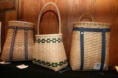 Backpacks, Totes, and Market Baskets with Valerie Poirier at the John C. Campbell Folk School | folkschool.org