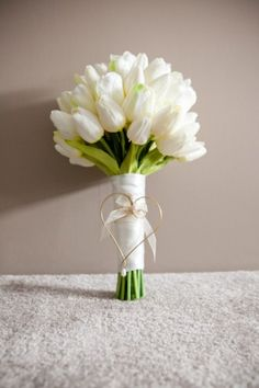 wedding thank you pictures Tulip Bouquet Wedding, Flower Bouqet, White Wedding Flowers, Bride Bouquets, Bridal Flowers, White Tulip Bouquet, Greenery Bouquets, Boxing Day, Marie