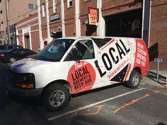 Van Wrap design for Local Brewing Co. in San Francisco, CA – Gamut, San Francisco