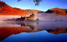 Замок в Шотландии.