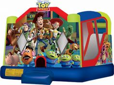 Buy cheap and high-quality Inflatable Toy Story Combo C4. On this product details page, you can find best and discount Inflatable Bouncers for sale in 365inflatable.com.au