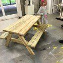 Kids Picnic Table Plans | MyOutdoorPlans | Free Woodworking Plans and Projects, DIY Shed, Wooden Playhouse, Pergola, Bbq