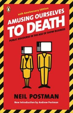 """Amusing Ourselves to Death"" by Neil Postman. Clear-sighted, almost uncanny analysis of a medium which has become as ubiquitous and pervasive as ""background radiation."" Sobering."