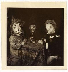 from 'haunted air'--a collection of weird old halloween photographs compiled by ossian brown