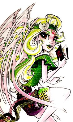 Monster High by Airi Monster High Room, Monster Art, Monster High Dolls, Monster High Pictures, Cartoon Monsters, Ever After High, New Dolls, Cute Characters, Princesas Disney