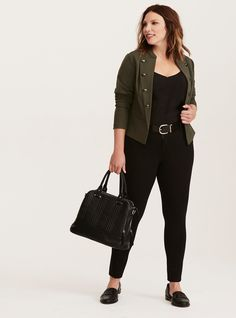 41 Stylish Plus Size Outfits Ideas for Autumn - Fashion Feed Business Professional Outfits, Business Casual Outfits For Women, Office Outfits Women, Casual Work Outfits, Business Outfits, Work Casual, Casual Wear, Plus Size Business Attire, Curvy Work Outfit