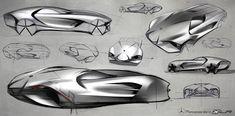 Mercedes Benz   eXotic Light Racing concept   Dongman Joo