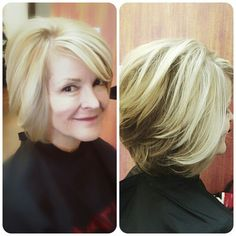Contrasting blonde by lucy lopez cleveland ohio.....solstice salon.