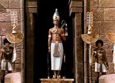 """""""Faraon"""" (1965), Poland. Jerzy Zelnik as pharaoh Ramzes XIII."""