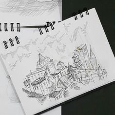 #new #work #arqsketch #urbansketcher #arch_sketch #ARQUITETAPAGE #ink #art #illustration #izy_sketch #sketch_daily #arch_more #artists_insta #artFido #izy_architecture_sketch #papodearquiteto #sketchbook #sketch #drawing #draw #detail #detailed #watercolor #rapido #isograph #rotring #goodnight #town