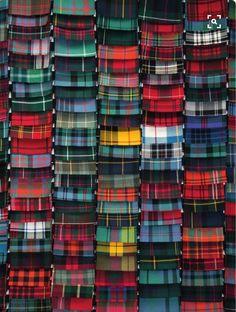 Lochcarron of Scotland Stock Service 2016 Collection USA distribution center,. Tartan Mode, Tartan Kilt, Harris Tweed, Moda Zara, Tartan Fashion, Tartan Fabric, Scottish Tartans, Textiles, Mode Style
