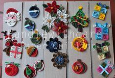 quilling christmas Decorazioni Natalizie -Handlewithcare paper quilling