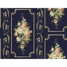 "Casabella II 27' x 27"" Floral and Botanical Wallpaper | Wayfair"