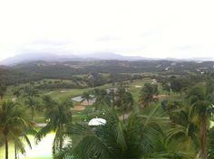 View of our golf course  El Conquistador Resort   Puerto Rico