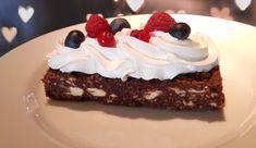 עוגת נקניק השוקולד האהוב, בגרסת עוגה עדכנית. מאוד טעים ומאוד קל להכנה. מומלץ בחום.