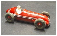 """Dinky Toys"" Diecast Alfa Romeo Tipo 158 Racing Car. c.1954  This is another Dinky that I remember owning...long gone now."