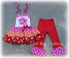Items similar to Custom Boutique Clothing Abby Cadabby and Elmo Tiered Top and Pant Birthday Sesame Street on Etsy Bug Clothing, Boutique Clothing, Elmo Birthday, Birthday Ideas, Birthday Outfits, Princess Birthday, Birthday Parties, Toddler Pageant, Tiered Tops