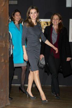Princess Letizia in Madrid - MYROYALS - HOLLYWOOD: November 2012