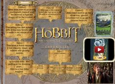 The Hobbit, or There and Back Again is a fantasy novel and children's book by English author J. R. R. Tolkien. #glogster #glogpedia #hobbit