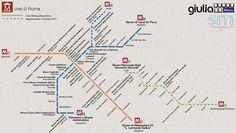 Una nuova mappa metropolitana, quella dei musei della Capitale, si candida a conquistare migliaia di click sui social network. Proprio come i precedenti episodi dell'originale serie, vedi la mappa dei teatri. Il tutto messo insieme dalle ragazze terribili del web, Maria Beatrice Alonzi della Scuola …