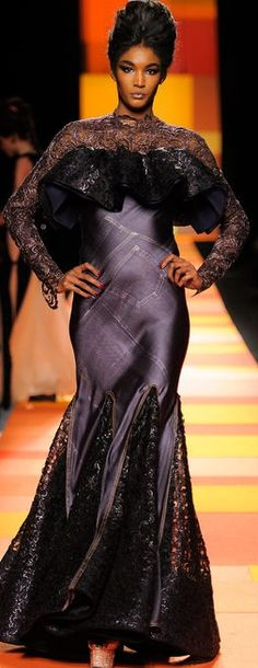 Jean Paul Gaultier haute couture, spring 2013  Jean Paul is the best!
