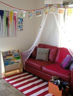Organising Kids Spaces: Our Book Corner | Childhood101