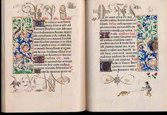 livre d'heures de Marie de Bourgogne - Codex Vindobonensis 1857, fols. 38v-39r - Bibliothèque National d'Autriche.
