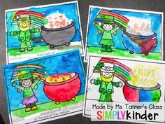 St. Patrick's Day Printable from Simply Kinder!  Free!