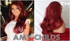 Jealous of Amy Childs red locks?   Steal the Celebrity Look! Click to shop!    Shop: www.quickclipinhairextensions.co.uk    #beauty #beautyhacks #beautytips #redhair #hair #hairstyle # wigs #extensions #amychilds #shop