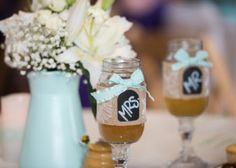 The Barn at Evergreen Wedding Beer Mugs Mr and Mrs