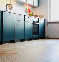A.S. Helsingö kitchen / Timberwise Herringbone Oak Parquet