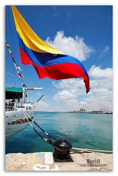 Regata Cádiz Colombia~where my mom was born & raised! GorgeousColombia~where my mom was born & raised! Flags Of The World, Places Around The World, Oh The Places You'll Go, Around The Worlds, Colombian Flag, Colombian Culture, Vacation Places, Places To Travel, Colombia South America