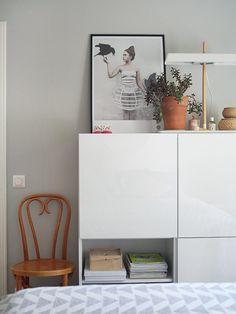 Grey bedroom Shelves, Bedroom, Grey, Home Decor, Organization, Shelving, Room, Gray, Shelving Units