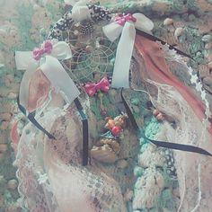 White Dreamcatcher by CallypsoHouse on Etsy
