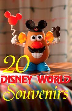 20 Disney World Souvenir Ideas - wish I had known about the potato head! Love it!! For next trip! ;)