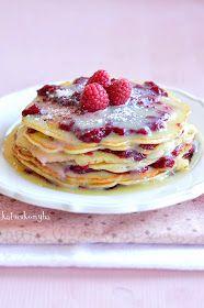 Hungarian Recipes, Hungarian Food, Pancake Dessert, Paleo, Crepe Cake, Cakes And More, Soul Food, Dessert Recipes, Dessert Ideas