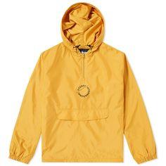 Stussy Gold Nylon Pop Over Jacket