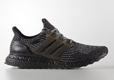 345a4924b adidas Ultra Boost 3.0 Triple Black BA8923