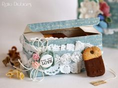 hommade cookies box decoration