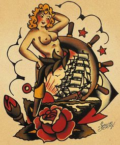 Sailor Jerry 47 by FAMILIAR STRANGERS Tattoo Studio - Singapore, via Flickr