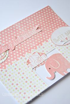 HandMade by Gio: Congratulations card - Sizzix