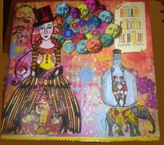 Thank You for sharing this outstanding composition Yvette!  I LOVE what you did, especially that you used all those colorful balloons from the new Cirque collection!!
